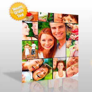 Poster mit mehreren fotos gestalten